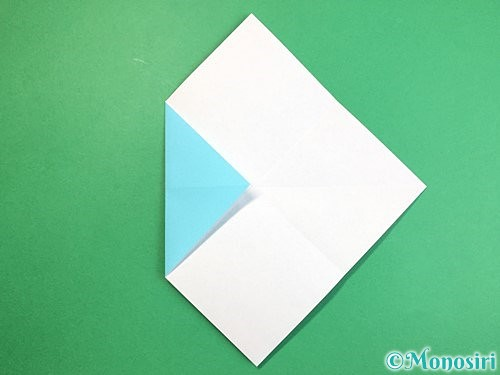 折り紙で魚の折り方手順6