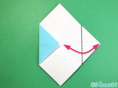 折り紙で魚の折り方手順7