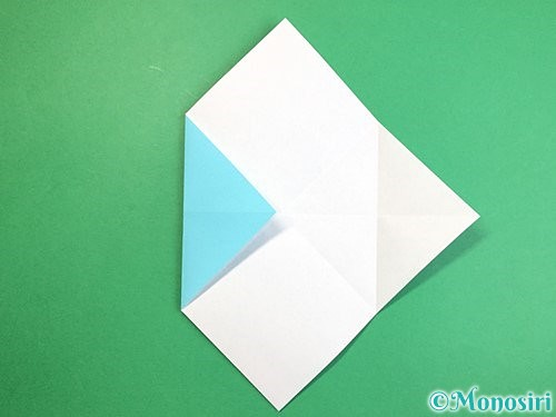 折り紙で魚の折り方手順8