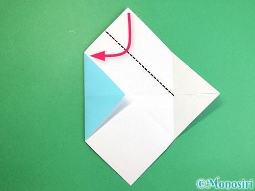 折り紙で魚の折り方手順10