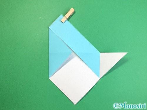 折り紙で魚の折り方手順11