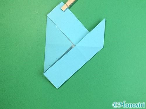 折り紙で魚の折り方手順15