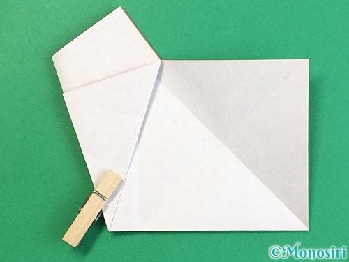 折り紙でヒトデの作り方手順10
