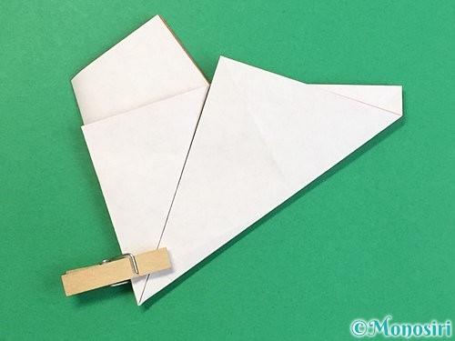 折り紙でヒトデの作り方手順12