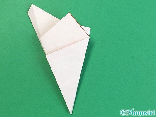 折り紙でヒトデの作り方手順14