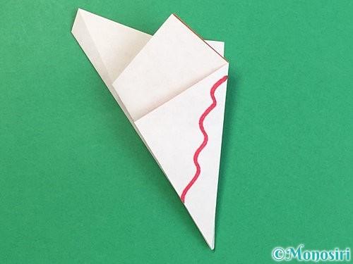 折り紙でヒトデの作り方手順15