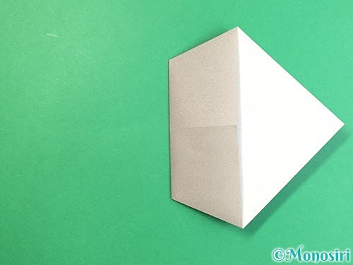 折り紙でアシカ(オットセイ)の折り方手順6