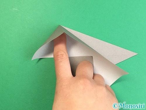折り紙でアシカ(オットセイ)の折り方手順8