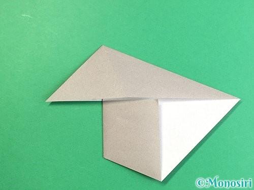 折り紙でアシカ(オットセイ)の折り方手順9