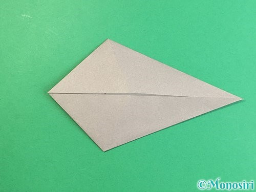 折り紙でアシカ(オットセイ)の折り方手順10