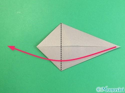 折り紙でアシカ(オットセイ)の折り方手順11