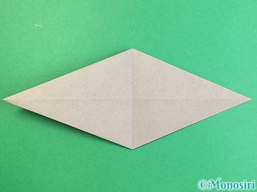 折り紙でアシカ(オットセイ)の折り方手順12