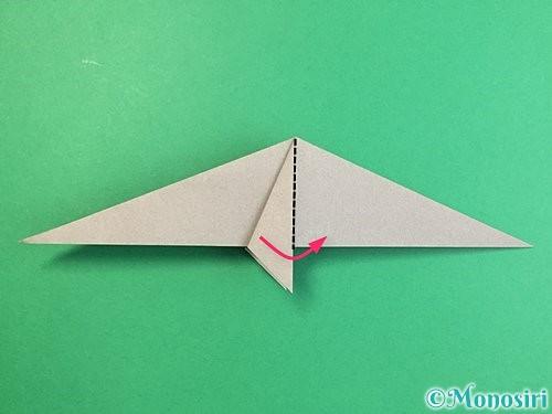 折り紙でアシカ(オットセイ)の折り方手順19