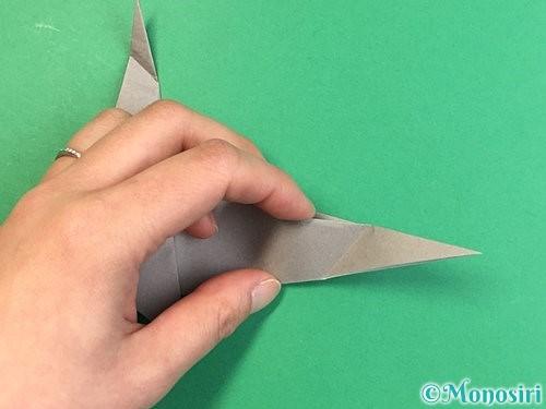 折り紙でアシカ(オットセイ)の折り方手順31