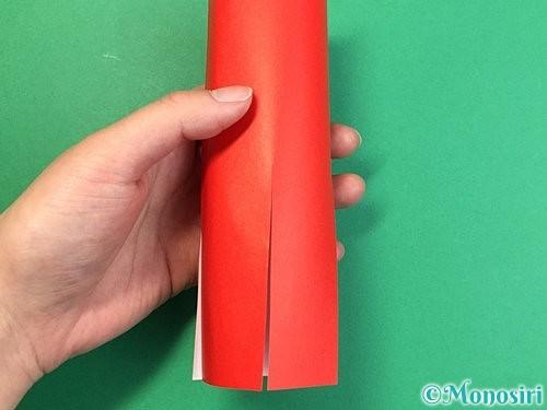 折り紙でタコの作り方手順6