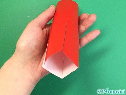 折り紙でタコの作り方手順7