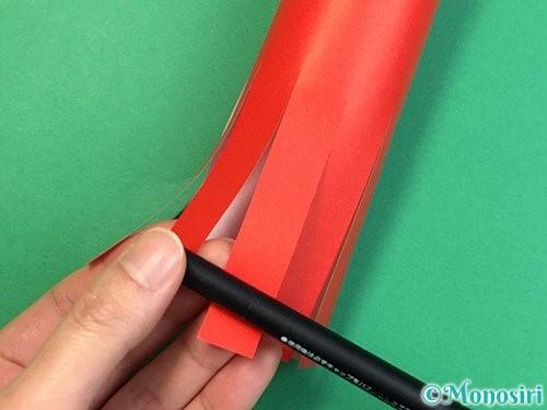 折り紙でタコの作り方手順10