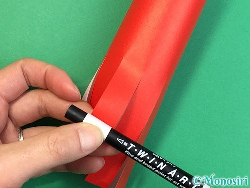 折り紙でタコの作り方手順11