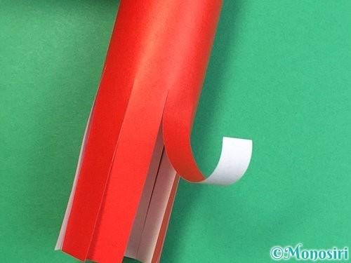 折り紙でタコの作り方手順13