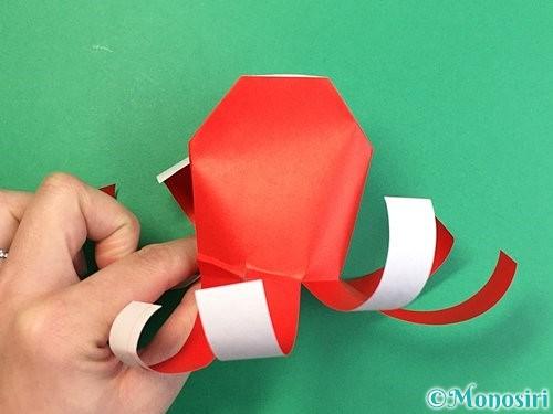 折り紙でタコの作り方手順16