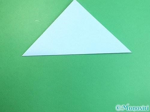 折り紙でクラゲの折り方手順2