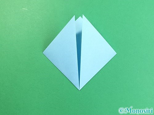 折り紙でクラゲの折り方手順4