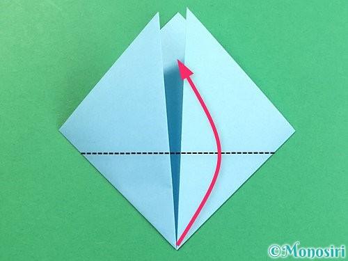 折り紙でクラゲの折り方手順5