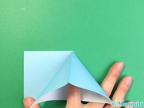 折り紙でクラゲの折り方手順15