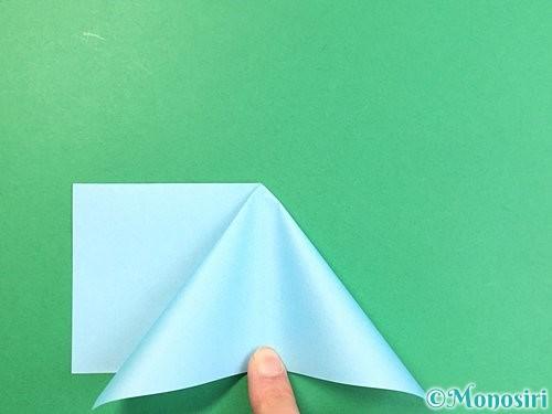 折り紙でクラゲの折り方手順16