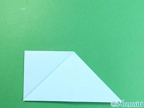折り紙でクラゲの折り方手順17