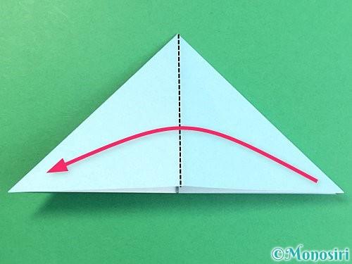 折り紙でクラゲの折り方手順19