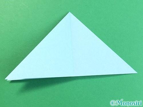 折り紙でクラゲの折り方手順20