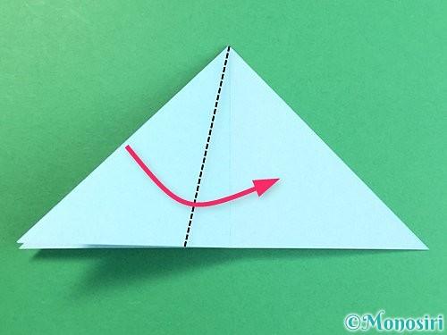 折り紙でクラゲの折り方手順21