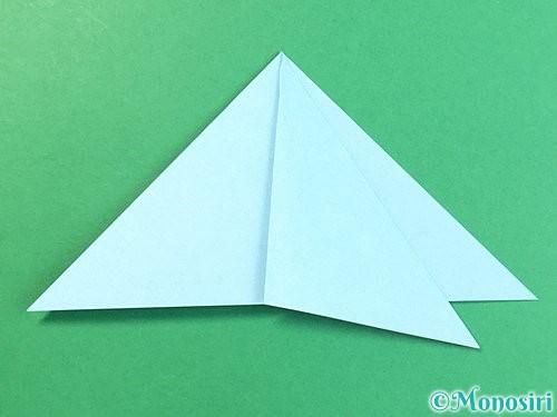 折り紙でクラゲの折り方手順22