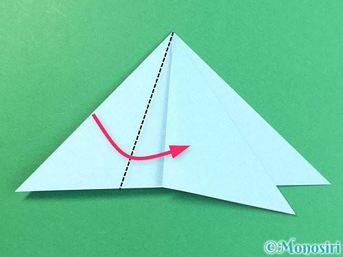 折り紙でクラゲの折り方手順23