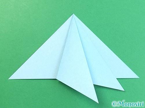 折り紙でクラゲの折り方手順24