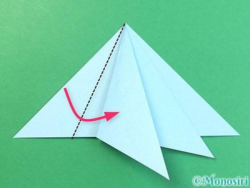 折り紙でクラゲの折り方手順25
