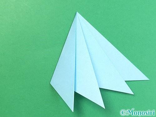 折り紙でクラゲの折り方手順26