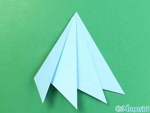 折り紙でクラゲの折り方手順28