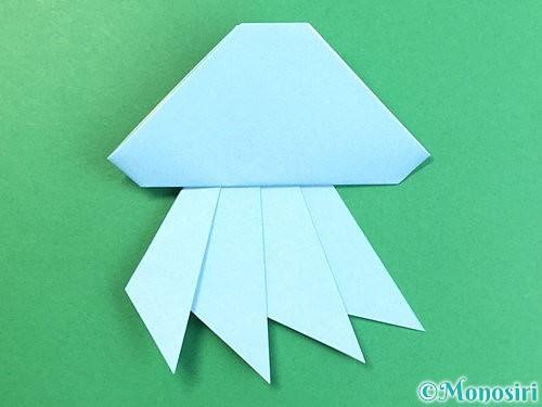 折り紙でクラゲの折り方手順29