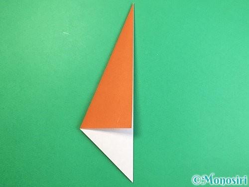 折り紙でラッコの折り方手順5
