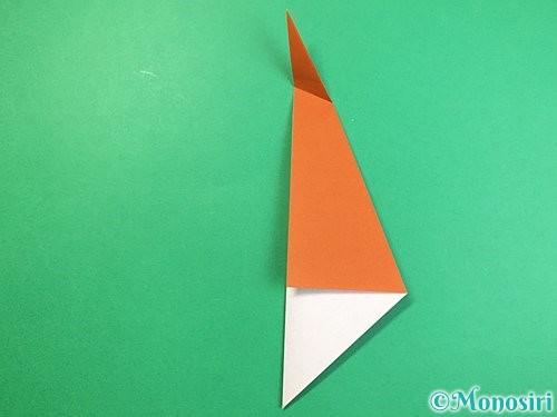 折り紙でラッコの折り方手順7
