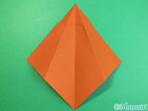 折り紙でラッコの折り方手順8