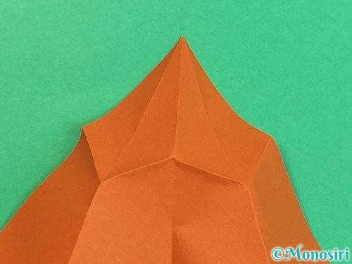 折り紙でラッコの折り方手順10