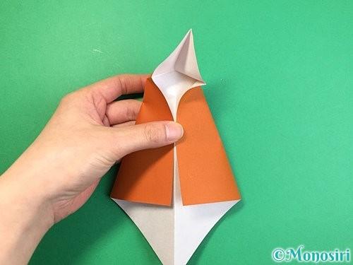 折り紙でラッコの折り方手順12
