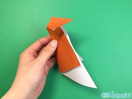 折り紙でラッコの折り方手順14