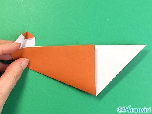 折り紙でラッコの折り方手順20