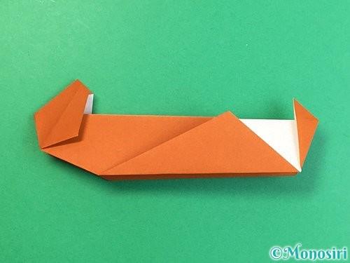 折り紙でラッコの折り方手順31