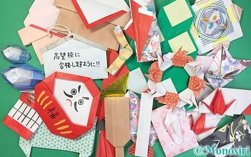 折り紙で作ったお正月飾り