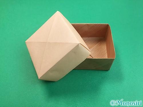 折り紙で箱の折り方手順20